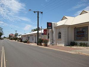Mingenew, Western Australia - Mingenew's main street.