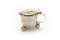 Miniatyr dryckeskanna med lock, av silver - Skoklosters slott - 92223.tif