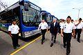 Ministro de Defensa participó en ceremonia de entrega de buses a la Marina (8500580872).jpg