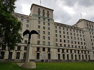 headquarters of the Ministry of Defence in Whitehall, London