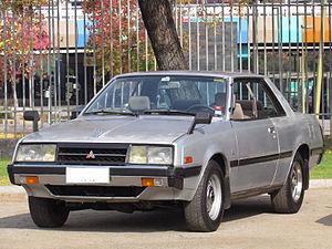 Mitsubishi Galant Lambda - 1982 Mitsubishi Sapporo 2000 GSL