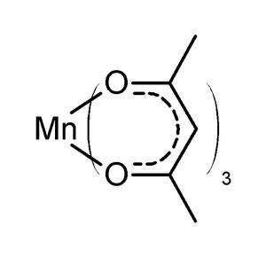 Metal acetylacetonates - Scheme 1. Structure of manganese(III) acetylacetonate
