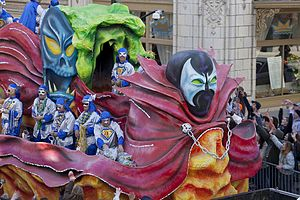 Mystic society - Knights of Revelry parade in 2010.