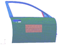 Modeling of an automobile door.png