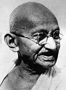 Mohandas K. Gandhi, portrait.jpg