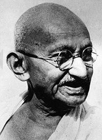 Mohandas K. Gandhi, portrait