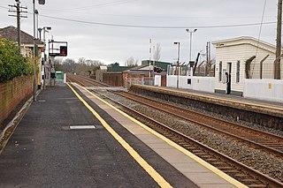 Moira railway station Railway station in County Down, Northern Ireland