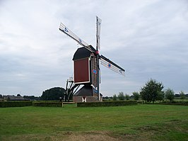 De herbouwde molen (aug. 2008)