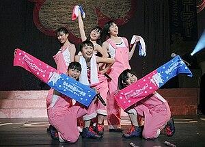 Akari Hayami - Akari Hayami's final concert with Momoiro Clover. April 10, 2011.