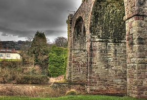 Monmouth Viaduct - Image: Monmouth Viaduct