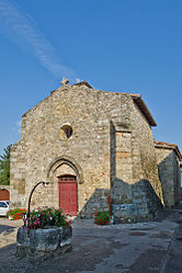 The church in Montagny