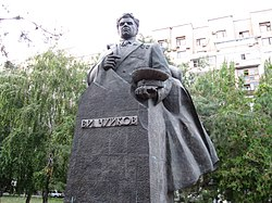 Monument to Chuikov in Volgograd.jpg