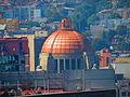 Monumento a la Revolución desde la Torre Latinoamericana, Ciudad de México.JPG