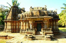 Moole Shankareshvara temple (1260 A.D.) at Turuvekere in Tumkur district