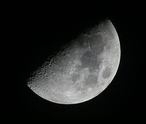 Night sky - The Moon is the most often viewed major object in the night sky, while sometimes visible during daytime.