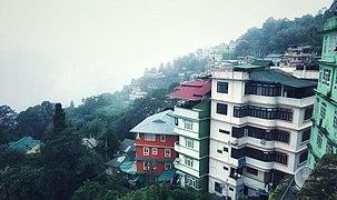 Morning Hilltop View, Gangtok, Sikkim.jpg