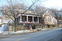 Morton Memorial Library from street.JPG