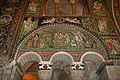Mosaic from life of Abraham, Angels announce Birth of Isaac; Basilica of San Vitale, Ravenna, 6th century Byzantine (6098122967).jpg
