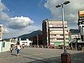 Mount Sarakurayama from Kurosaki Station 2.jpg
