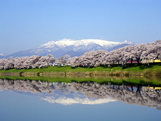 mountain in Miyagi Prefecture, Japan