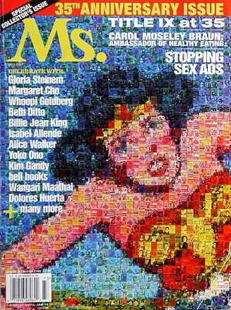 952cef49fa Revista Ms., edição de outubro de 2007, comemora o 35º aniversário do título