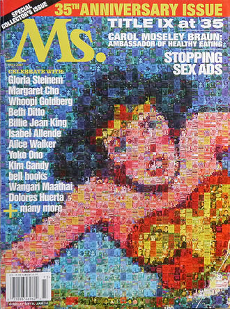 Ms. (magazine) - Ms. Magazine's 35th anniversary edition showcasing Wonder Woman on the front cover