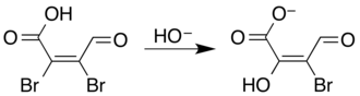 Mucobromic acid - Image: Mucobromic acid mucoxybromic acid