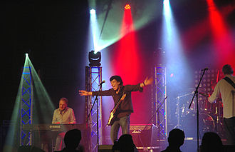 Mungo Jerry - The band performing at the Zürisee-Festival in Erlenbach, near Zurich, Switzerland, 2013