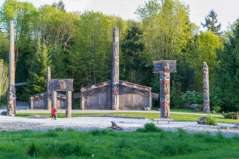 Haida House at the UBC Museum of Anthropology. From Discover Vancouver: Off the Beaten Path