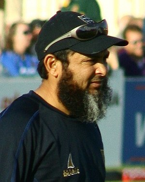 Mushtaq Ahmed (cricketer, born 1970) - Image: Mushtaqahmed (cropped)