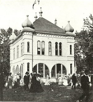 Schuetzen Park (Iowa) - Music Pavilion at Schuetzen Park, Davenport, Iowa
