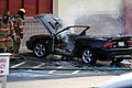 Mustang car fire at CVS on Key West Highway in North Potomac MD July 12 2012 (7575623340).jpg