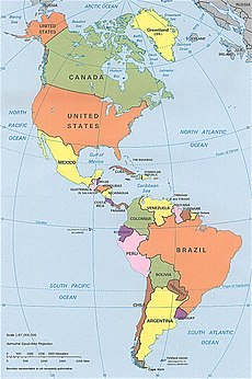 Americas wikipedia cia political map of the americas in lambert azimuthal equal area projection gumiabroncs Gallery