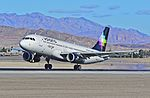 "N513VL Volaris 2012 Airbus A320-233 - cn 5322 ""Jorge"" - McCarran International Airport, Las Vegas (11318015444).jpg"