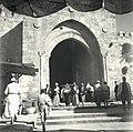 NABLUS GATE, IN THE OLD CITY OF JERUSALEM. שער שכם בעיר העתיקה בירושלים.D728-066.jpg