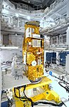NASA's Aqua satellite in high bay - 8342069681.jpg