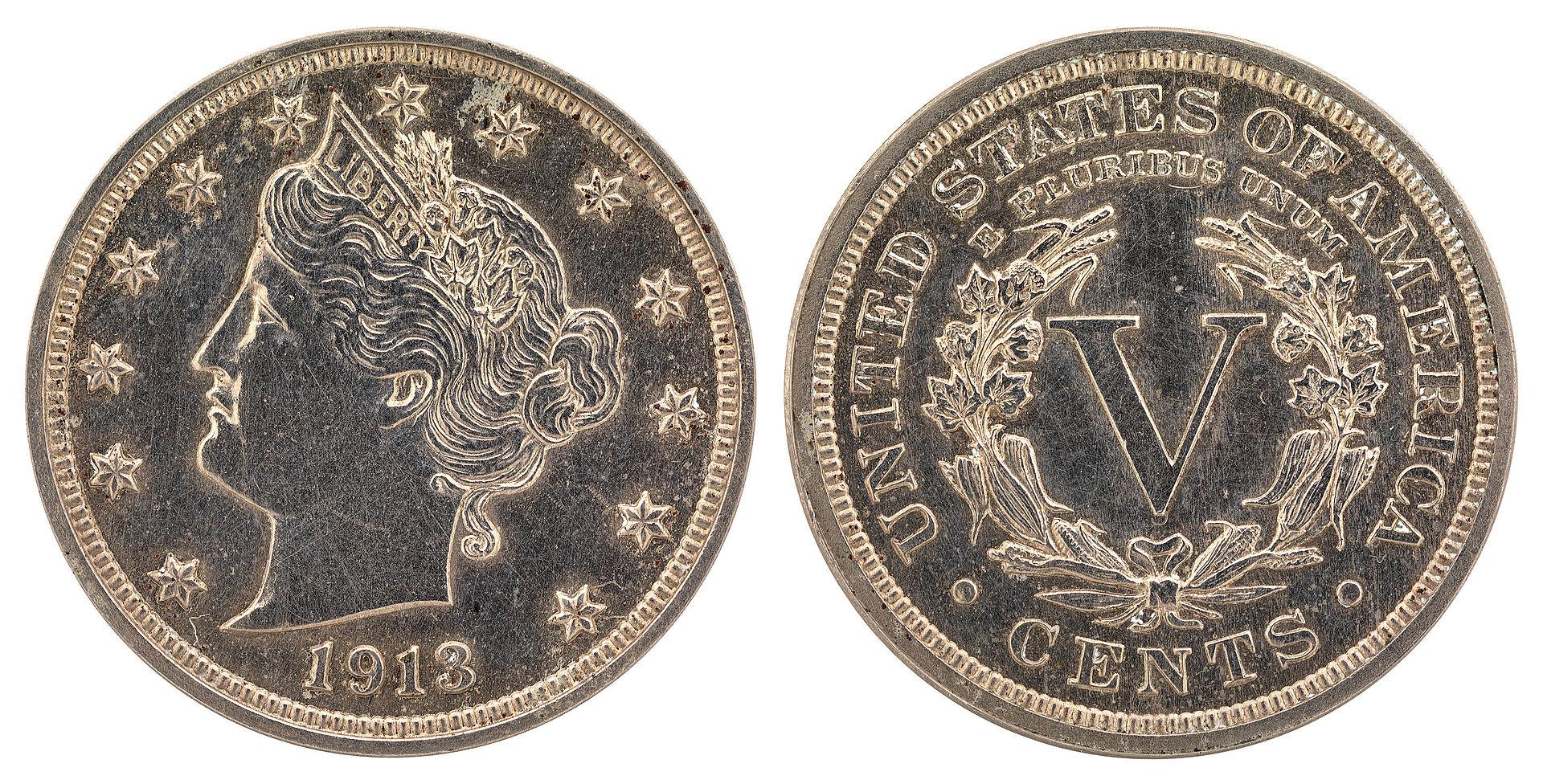 1913 Liberty Head Nickel Wikipedia