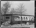 NORTHWEST CORNER - Fort Sheridan, Gun Shed, Ronan Road, Lake Forest, Lake County, IL HABS ILL,49-FTSH,1-27-2.tif