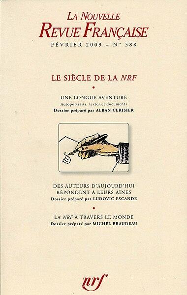 File:NRF n°588 COUV Le siècle de la NRF110.jpg