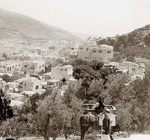 Samuel Lyde - Nablus at the end of the 19th century