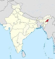 Nagaland in India (disputed hatched).svg
