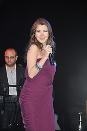 11ed1c0184b51 Ajram during a concert in Bahrain