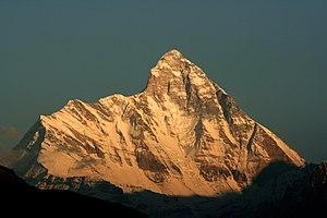 Die Westwand der Nanda Devi