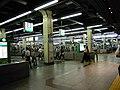 Nankai Nanba station platform - panoramio (11).jpg