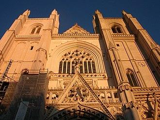Nantes Cathedral - Image: Nantes cathédrale façade