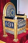 Napoleon's Throne. Louvre Museum