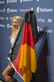 Natalie Horler, ESC2013 press conference 08.jpg