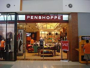 Penshoppe - A Penshoppe outlet at SM City Baliuag