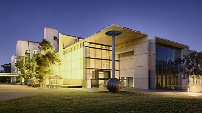 National Gallery at dusk, Canberra ACT.jpg
