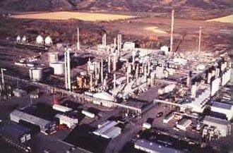 Natural-gas processing - A natural-gas processing plant